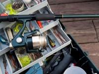 Carrete de la pesca de rodamiento